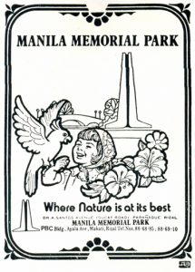 1970s MMP artwork for a print ad