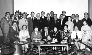 1970s SYS with Tokio Marine officers