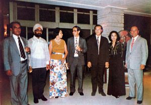 1975 AY with ASEAN Insurance Commissioners