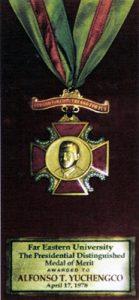 1978 AY Merit Medal from FEU