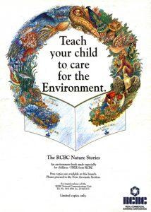 1993 RCBC Nature book ad