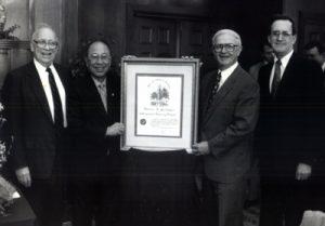 1995 AY honorary professor U of Alabama