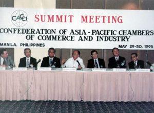 1995 AY presides CACCI Conference