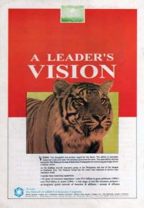 1995 Malayan The Leader's Vision