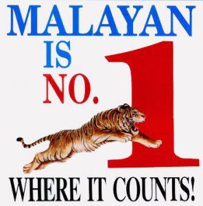 1997 - Malayan is No1 ad