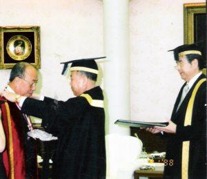1998 AY Honorary doctorate from Soka U