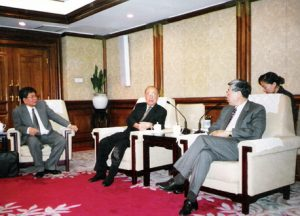 1999 AY meets with PROC Minister