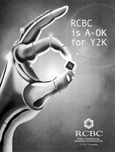 1999 RCBC Y2K Ok ad