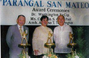 2001 AY PICPA Awardees