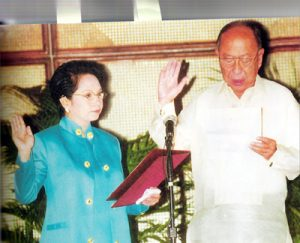 2002 AY Oath-taking as Permanent Rep to UN