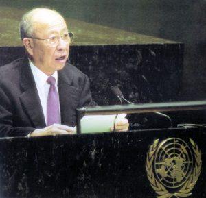 2002 AY speaks before UN Gen Assembly