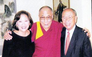 2003 AY with MLSY and the Dalai Lama