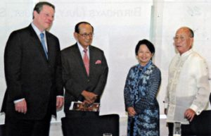 2006 AY with Al Gore and PGMA