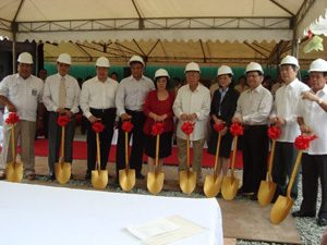 2009 AY at RSB The Fort ground breaking