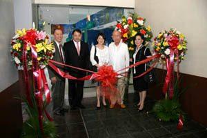 2009 AY at inauguration of RCBC Binondo ebiz center