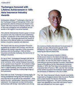 2010 AY Lifetime Achievement Award - Caption