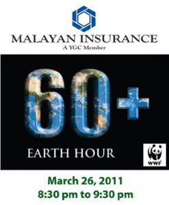 2011 Malayan supports Earth Hour