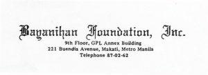 Bayanihan Foundation