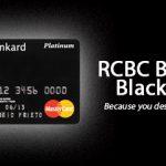 RCBC Bankard Black Card Platinum MasterCard