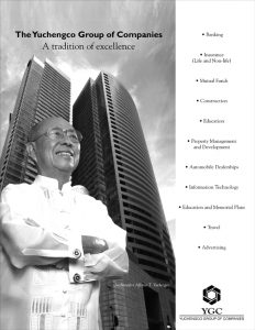 YGC Tradition of Excellence print ad